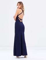Datura Fitted Fishtail Gown