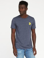 Old Navy Pac-Man Embroidered Graphic Tee for Men