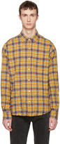 Faith Connexion Yellow Plaid Shirt