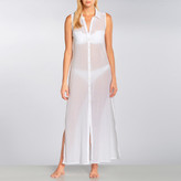 OndadeMar Long Button Front Sleeveless Dress