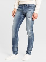Calvin Klein Jeans Skinny Light Blue Wash Jeans