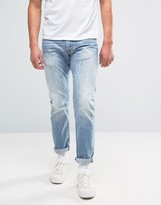 Edwin Ed-55 Regular Tapered Jeans Heaven Wash