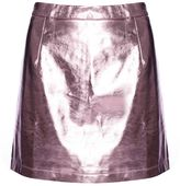 Glamorous **Metallic High Waisted Skirt