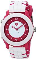 Brillier Unisex 13.03-01 Buzz Analog-Digital Reversible Display Watch with Rubber Strap