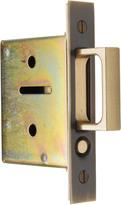 Rejuvenation Pocket Door Passage Mortise Kit