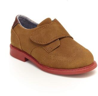 Carter's Boys' Dano Hook and Loop Dress Shoe Sneaker