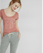 Express one eleven all i want for christmas graphic tee