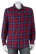 Big & Tall SONOMA Goods for LifeTM Classic-Fit Plaid Button-Down Shirt