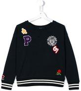 Ralph Lauren patch detail sweatshirt
