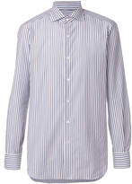 Isaia striped shirt