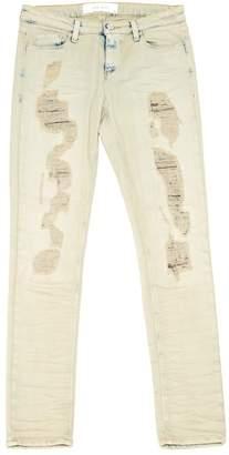 IRO Ecru Cotton - elasthane Jeans