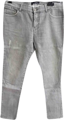 The Kooples Grey Cotton - elasthane Jeans for Women
