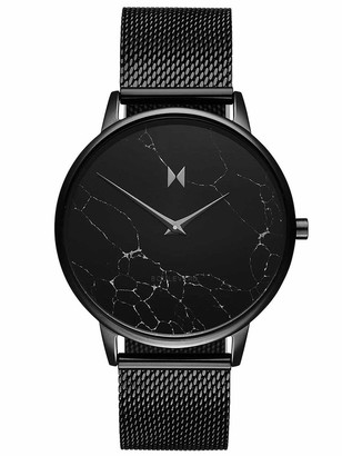 MVMT Womens Analogue Quartz Watch with Stainless Steel Strap D-MB01-BLMA