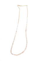 Chan Luu Pink Opal Mix Layering Necklace