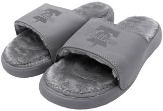 Men's ISlide Philadelphia Phillies Faux Fur Slide Slippers