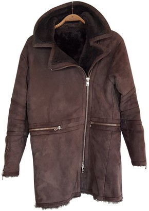 J. Lindeberg Grey Shearling Jacket for Women