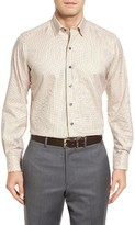 David Donahue Men's Tattersall Sport Shirt