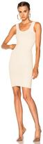 Yeezy Season 4 Ribbed Sleeveless Midi Dress in Neutrals.