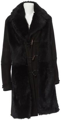 Saint Laurent Black Faux fur Coats