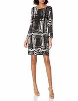 Trina Turk Trina Women's Wade Printed Long Sleeve Dress