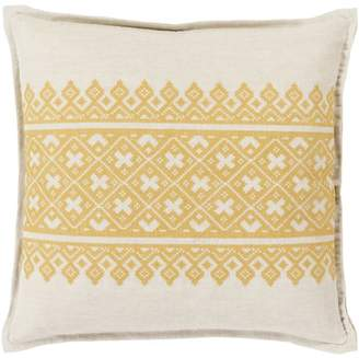 """Art Of Knot Art of Knot Chilton 18"""" x 18"""" Pillow Cover"""