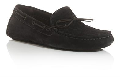 Bottega Veneta Intrecciato woven suede driving shoes