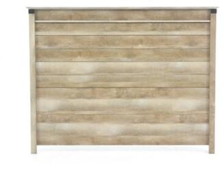 Gracie Oaks Aradhya Full/Queen Panel Headboard Color: Lintel Oak