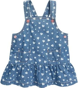 Hatley Heart Cluster Denim Dress