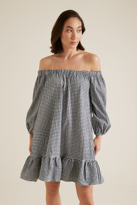 Seed Heritage Gingham Mini Dress