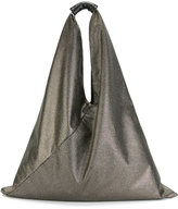 MM6 MAISON MARGIELA slouch shoulder bag - women - Calf Leather/Polyamide/Polyester - One Size