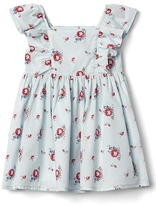 Gap Floral flutter dress