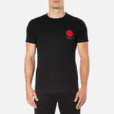 Edwin Men's Red Dot Logo 2 TShirt - Black