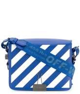 Off-White Off White diagonal stripe crossbody bag