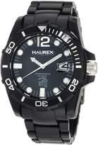 Haurex Italy Men's Caimano Date Dial Plastic Sport Watch N7354UNN