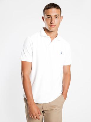 Polo Ralph Lauren Custom Slim Polo T-Shirt in White