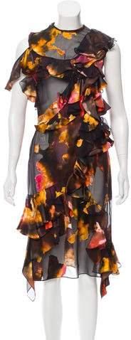 Givenchy Ruffled Midi Dress