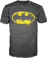 Bioworld DC Comics Batman Drip Distressed Logo Mens T-shirt M