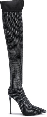 Le Silla Embellished Thigh-High Boots