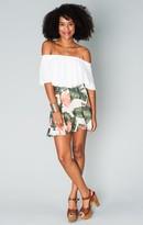 MUMU Skater Stretch Mini Skirt ~ Paradise Found