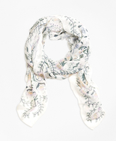 Brooks Brothers Herbarium Oblong Scarf