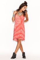 Winston White Inca Dress In Coral