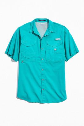 Columbia Bonehead Fishing Short Sleeve Button-Down Shirt