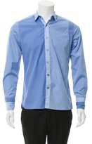 Lanvin Woven Button-Up Shirt