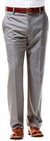 Haggar Twill Stria Dress Pant - Straight Fit, Flat Front