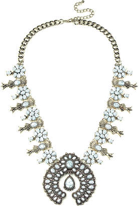Eye Candy Los Angeles Eye Candy La White Blossom Necklace