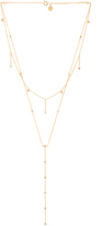 Gorjana Candice Shimmer Layered Lariat Necklace