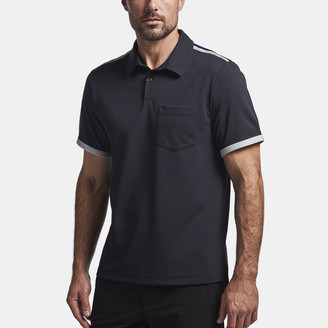 James Perse Y/Osemite Shoulder Stripe Performance Polo