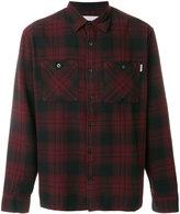 Carhartt plaid print flannel shirt