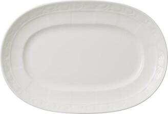 Villeroy & Boch White Pearl Pickle Dish (22Cm)