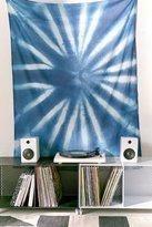 Urban Outfitters Graham Keegan Blue Shibori Tapestry